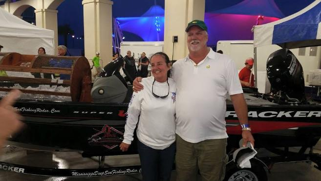 The annual fishing rodeo boat raffle for Deep sea fishing gulfport ms